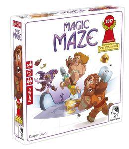 Pegasus Spiele Pegasus 57200G Magic Maze,Nominiert zum Spiel des Jahre