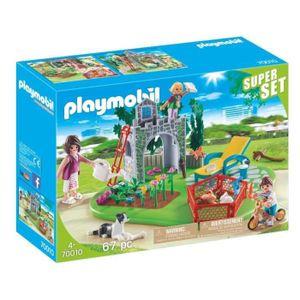 PLAYMOBIL SuperSet Familiengarten, 70010