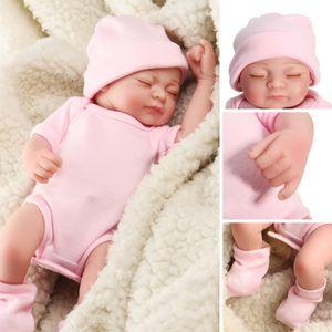 11 '' Lebensechte Babys Silikon Vinyl  Baby Dolls Handmade Puppe