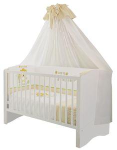 Polini Kids Kombi-Kinderbett Simple  140 x 70cm weiß, 1176.9