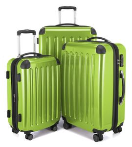 HAUPTSTADTKOFFER - Alex - Koffer-Set, 3 Hartschalen-Koffer, 4 Rollen, TSA (S, M & L)