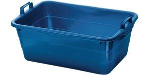 Lockweiler Tragewanne Polyethylen blau 800x535x300mm - 395/80