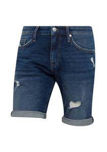 Mavi Herren TIM Jeans Shorts kurze Hose dark ripped 90s comfort 30