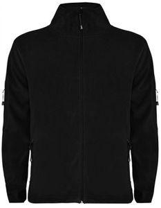 Herren Luciane Microfleece Jacket - Farbe: Black 02 - Größe: 3XL