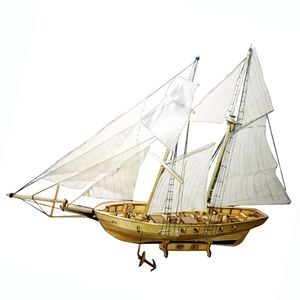 1/30 Holz Modellboot Schiffmodell Schiff Boot Modell Modellbau