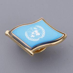 Flaggenabzeichen Metallrevers-Anstecknadel Pin-Back Krawatte für Hüte, Rucksäcke und mehr