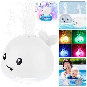 2 In 1 Kinder Baby Badespaß Badewannen-Spielzeug Whale Spray Induction Spielzeug Autom Induction Wasserspielzeug Dusche Kinder