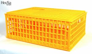 2x Transportbox Transportkiste Transportkorb für Küken Huhn Hühner Geflügel 73x55x29cm
