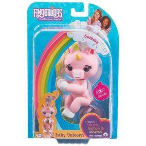 Figur Unicorn Gemma Fingerlings Rosa 117078