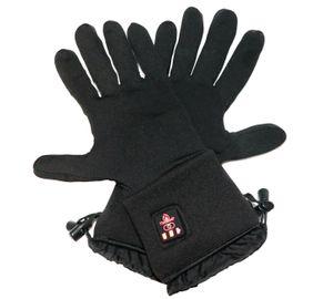 Thermrup Beheizbare Handschuhe Unterziehhandschuhe mit 4 Stufen Temperaturregler, Akkubetrieb (S)