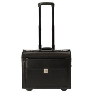 d&n Business & Travel Pilotentrolley Leder 45 cm