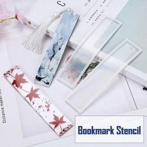 Rechteck Silikon Lesezeichen Form DIY Herstellung Epoxidharz Schmuck DIY Handwerk Form