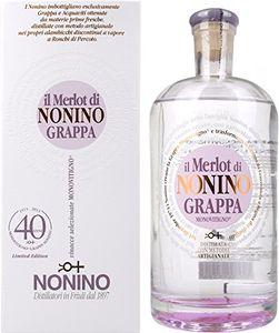 Nonino Il Merlot Grappa 41% Vol. 0,7l