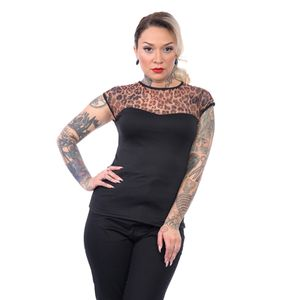 Steady Clothing Top - Miss Fancy Leopard XL