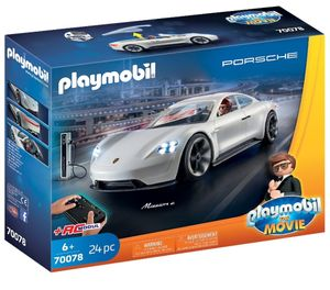PLAYMOBIL® 70078 The Movie - Rex Dashe'rs Porsche, Mission E - mit Fernsteuerung