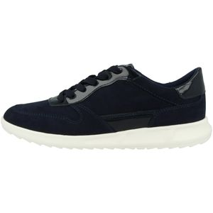 Tamaris Damen Sneaker Halbschuhe Schnürung 1-23625-26, Größe:39 EU, Farbe:Blau
