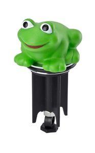 Waschbeckenstöpsel Pluggy® 3D Frosch