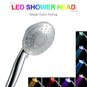 LED Handbrause LED Duschkopf Mehrere Farben Automatisch farbwechselnder Duschkopf fuer Badezimmer