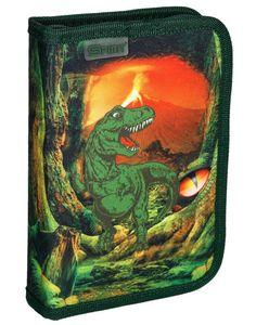 Dinosaurier T Rex  Federtasche gefüllt Federmäppchen Stifte Etui Federmappe Dino
