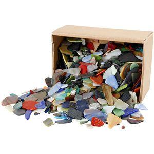 Mosaiksteine, Sortierte Farben, Größe 15-60 mm, 2 kg/ 1 Pck.