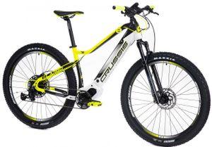 "29 Zoll Elektrofahrrad MTB E-Bike Modell OLI Largo 8,6-S CRUSSIS 2021 630Wh 17,5Ah Rahmenhöhe 20"" (51 cm) Schwarz/Gelb/Weiß"