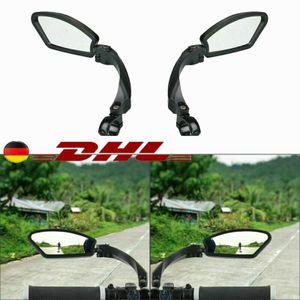 Universal Paar Rückspiegel für E-Bike Fahrradspiegel Spy Space Spiegel Fahrrad 3D Rechts + Links DE