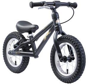 BIKESTAR Kinder Laufrad ab 3 - 4 Jahre   12 Zoll Mountain Lauflernrad   Schwarz