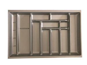 Besteckeinsatz Besteck Besteckkasten Schubladeneinsatz für bis zu 80cm Schublade