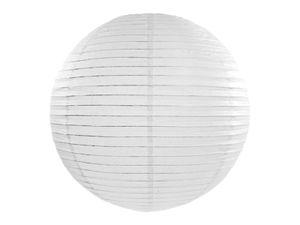 Papierlaterne Pom Pom Pom Pom Hängende chinesische/japanische Laterne Lampe für Hochzeit, Geburtstag, Party, Heimdekoration, 55 cm weiß