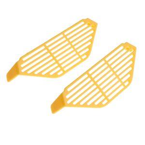 2Pc Plastic Durable Palm Drone Landefingerschutz für DJI Spark Farbe Gelb