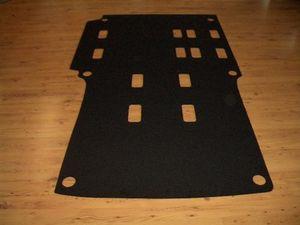 Komplett Teppich Fußmatte passend für VW T5 Caravelle Kombi Transporter mit Seitenverkleidung