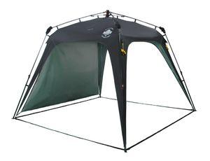Lumaland Outdoor Camping Quick Up System Pavillon Gartenzelt Partyzelt robust schwarz