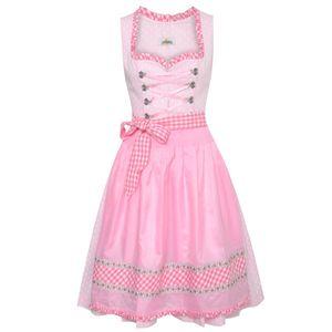 Midi Dirndl Katrin in Pink von Almsach, Größe:34, Farbe:Pink
