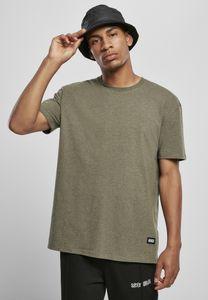 Urban Classics T-Shirt Oversize Melange Tee Darkgreen Melange-2XL