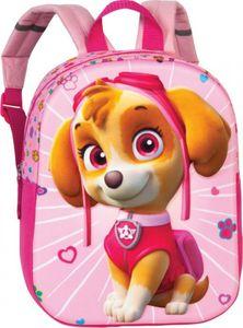Paw Patrol Skye Kinderrucksack rosa mit 3D Effekt ab 3 Jahren
