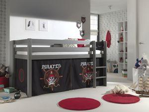 "Vipack Spielbett Pino mit Textilset ""Pirates"""