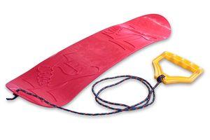 Ondis24 Kinder Snowboard mit Halteseil Mini Snowboard Lern-Snowboard Freestyleboard Gleitboard rot