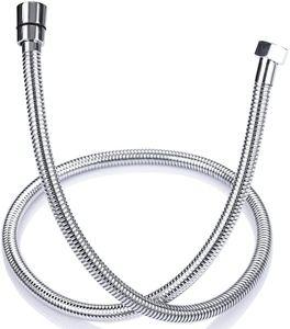 ONECE Edelstahl Duschschlauch 1,5m Brauseschlauch, Verdrehschutz Handbrauseschlauch flexibel Duschkopfschlauch, Universal Ersatz-Schlauch für Handbrause- & Duschsystem
