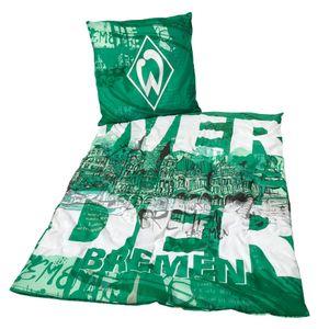 SV Werder Bremen Bettwäsche Bremen Fussball 1. Bundesliga Green