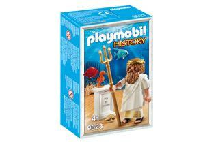 PLAYMOBIL 9523 History - Griechische Götter Poseidon Figur mit Zubehör