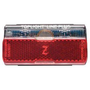 LED Gepäckträger-Rücklicht BUSCH + MÜLLER Toplight Line brake plus, Ausführung:80 mm