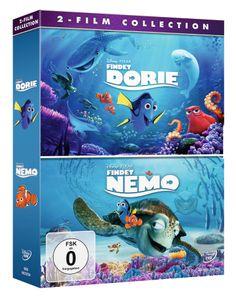 Disney - Findet Dorie + Findet Nemo - Doppelpack [DVD]