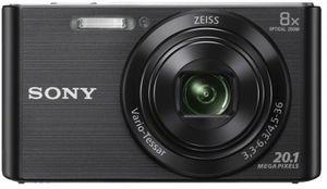 Sony Cyber-shot DSC-W830, 20,1 MP, 5152 x 3864 Pixel, CCD, 8x, HD, Schwarz