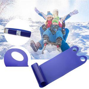 Snow Sled Board Outdoor Winter Kunststoff Ski Boards Snowboard Schlittenrodeln für Kinder