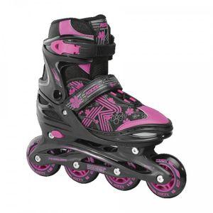 Roces Inline-Skates RocesMädchen Jokey 3.0 Mädchen schwarz/rosa Größe 26-29