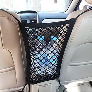 Universal KFZ Auto Netz Schutznetz Organizer mit Halter für Beutel Kinder Spielzeug Wasser