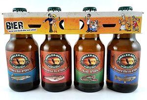 Angler Bier im witzigen Bierschaum Motiv 4er Träger (8,33 EUR / l)