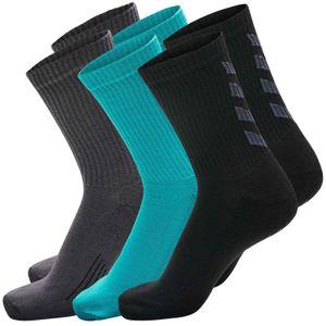 Hummel Fundamental Socken 3er Pack, schwarz, 36-40