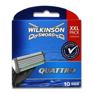 Wilkinson Sword Quattro Plus 10 Klingen Ersatzklingen NEUxxl