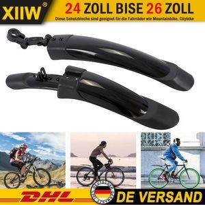 "Mountainbike Fahrrad Schutzblech Spritzschutz Bike e-Bike 24-29 Zoll MTB Bike Satz Vorne Hinten Radschutz Spritzschutz 24"" 25"" 26"" 27""28"" 29"""